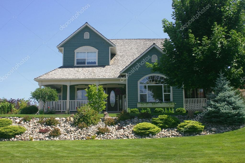 Beautiful home landscaping (Canada)