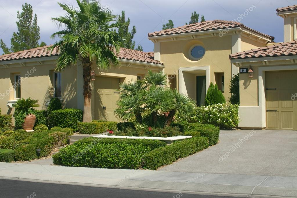 Beautiful residence and landscaping in Nevada, USA