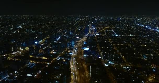 Bezirk Miraflores, in Lima Peru. Luftaufnahmen mit Drohnen über der Hauptstadt. Zeitraffer oder Hyperlapse.