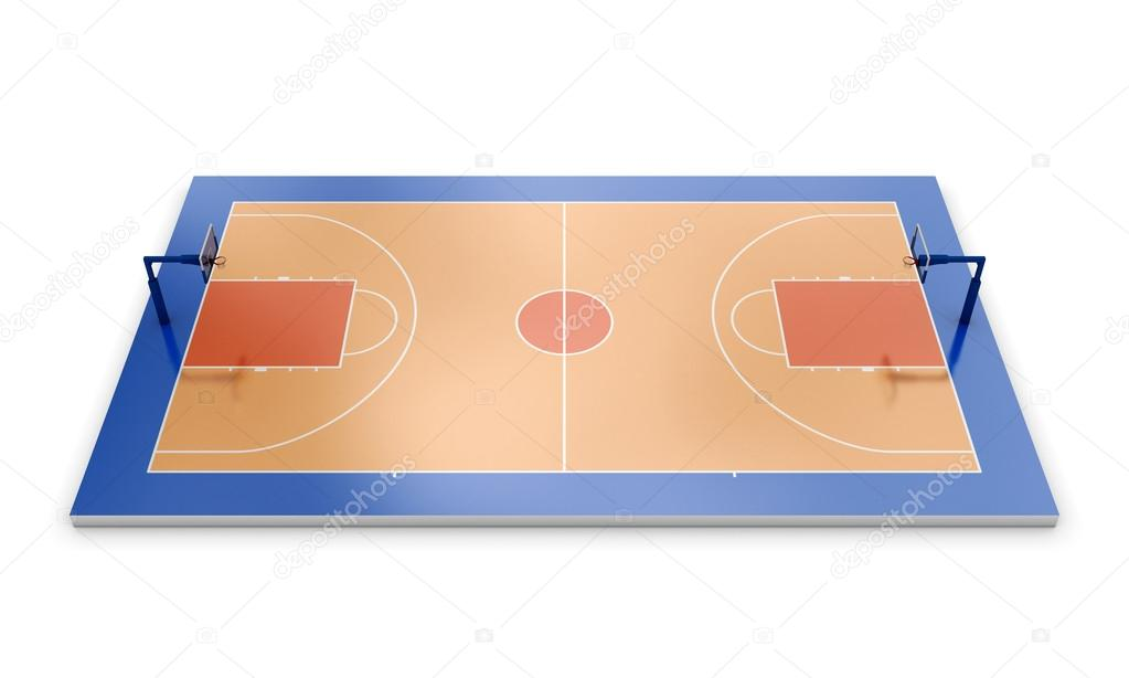 terrain de basket 3d photographie 3dmavr 63575957. Black Bedroom Furniture Sets. Home Design Ideas