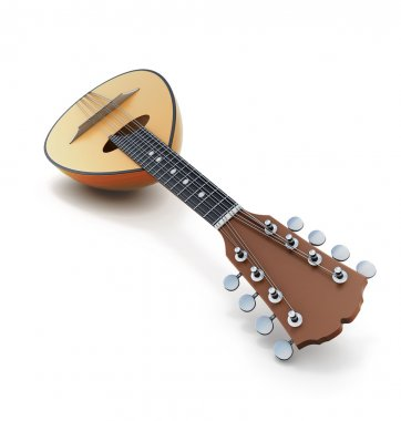 Mandolin close-up