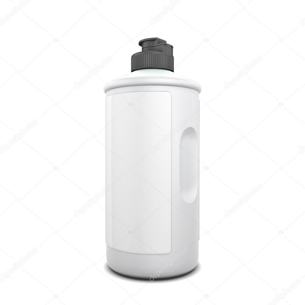 Bottle of detergent
