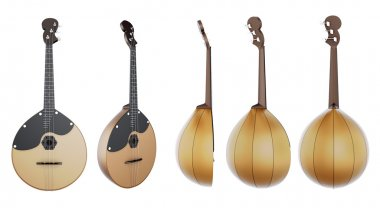Stringed musical instrument Domra