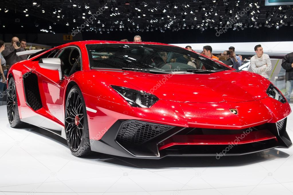Lamborghini Aventador LP750-4 SV at Geneva Motor Show 2015