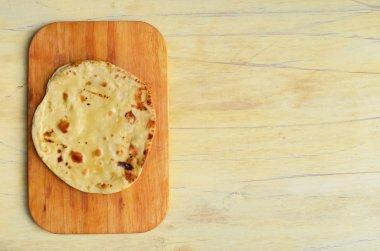 Mexican cuisine. Fried tortilla.