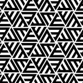 Fényképek Absztrakt csíkos háromszög alakú vektor Seamless Pattern