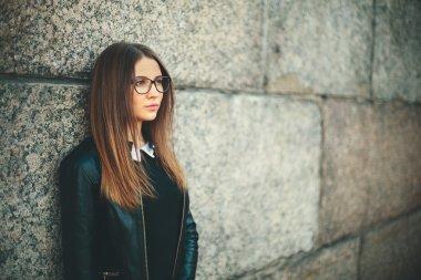 hipster student girl