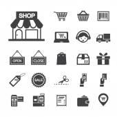 bevásárló ikon