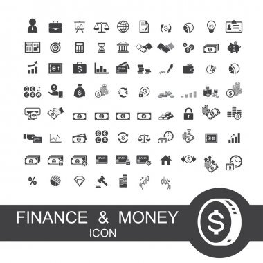 finance and money icon