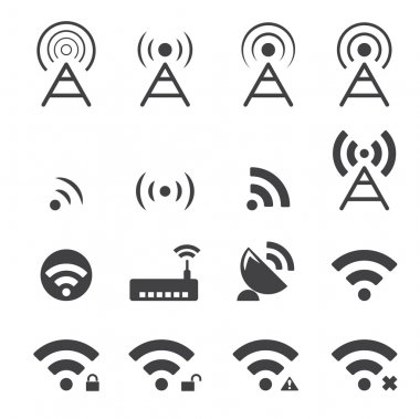 Wireless icon stock vector