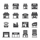 shopů sady ikon