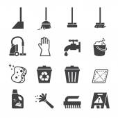 Fotografie cleaning icon