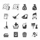 takarítás ikon