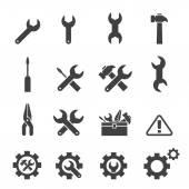 Fotografie sada ikon nástrojů