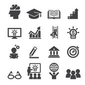 üzleti oktatás ikon