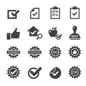 kontroly kvality ikony