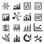 Analytics ikon készlet