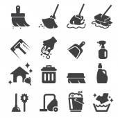 Fényképek takarítás ikon