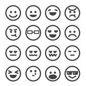 Photo human emotion icon
