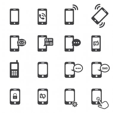 Phone icon stock vector