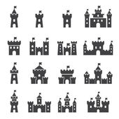 Schloss-Icon-set