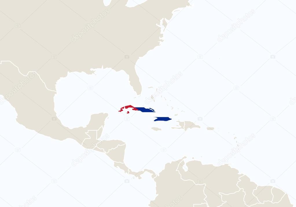 Amrica del sur con destacadas mapa de cuba vector de stock amrica del sur con destacadas mapa de cuba vector de stock gumiabroncs Image collections