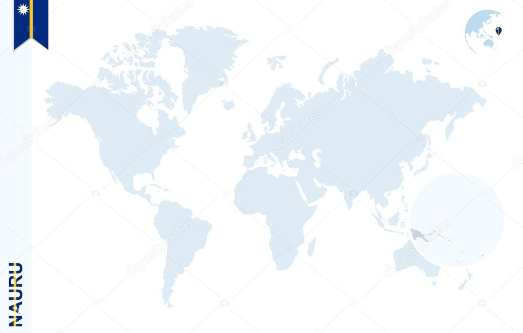 Blue world map with magnifying on Nauru. — Stock Vector ... on tuvalu map, east timor map, saint kitts and nevis map, libya map, mauritius map, kiribati map, monaco map, liechtenstein map, morocco map, wake island map, new caledonia map, rwanda map, liberia map, algeria map, mauritania map, mozambique map, papua nueva guinea map, kenya map, congo map, senegal map, zimbabwe map, malawi map, new zealand map, sudan map, madagascar map, the marshall islands map, niue map, ghana map, mali map, namibia map, burundi map, saint pierre and miquelon map, tunisia map, angola map, niger map, timor-leste map, solomon islands map, cook islands map, netherlands map, oceania map,
