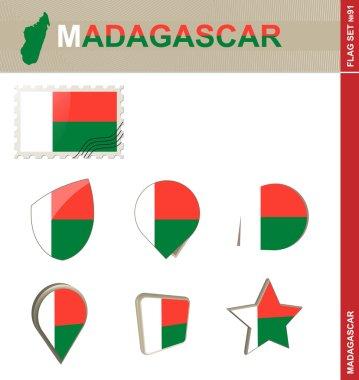 Madagascar Flag Set, Flag Set 91