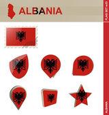 Albania Flag Set, Flag Set 33