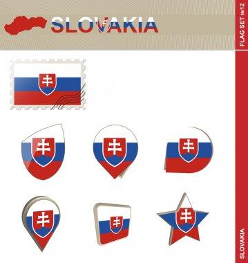Slovakia Flag Set, Flag Set 12