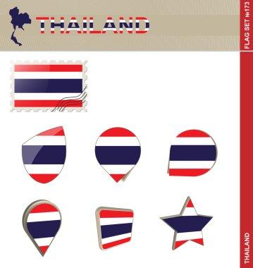Thailand Flag Set, Flag Set 173