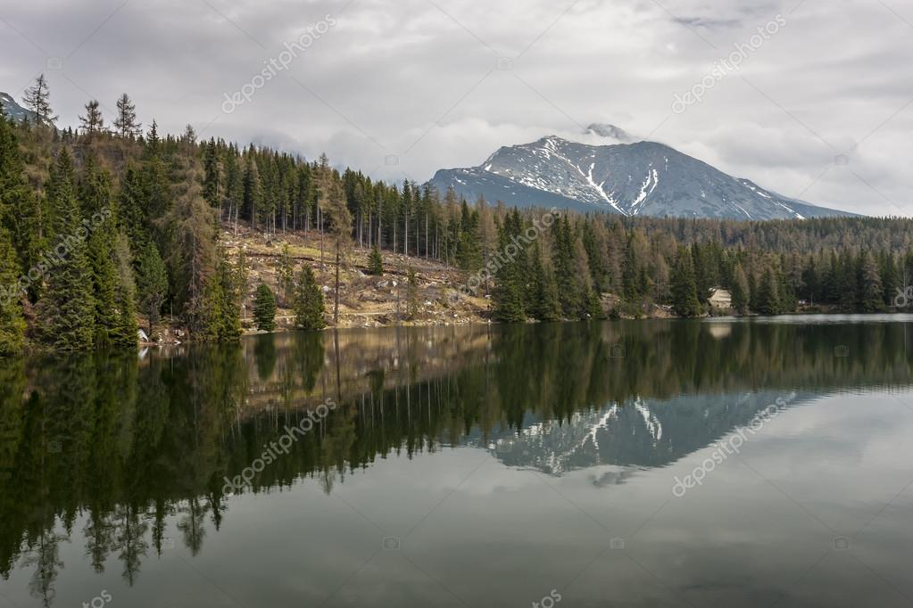 Mountain Lake in Slovakia Tatra