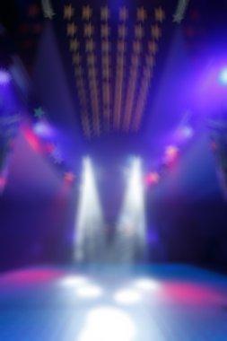 Bokeh background color disco