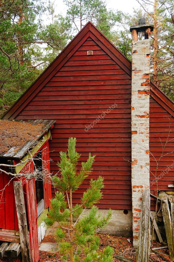 Brick brick chimney