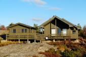 Zelený domek s další sauna