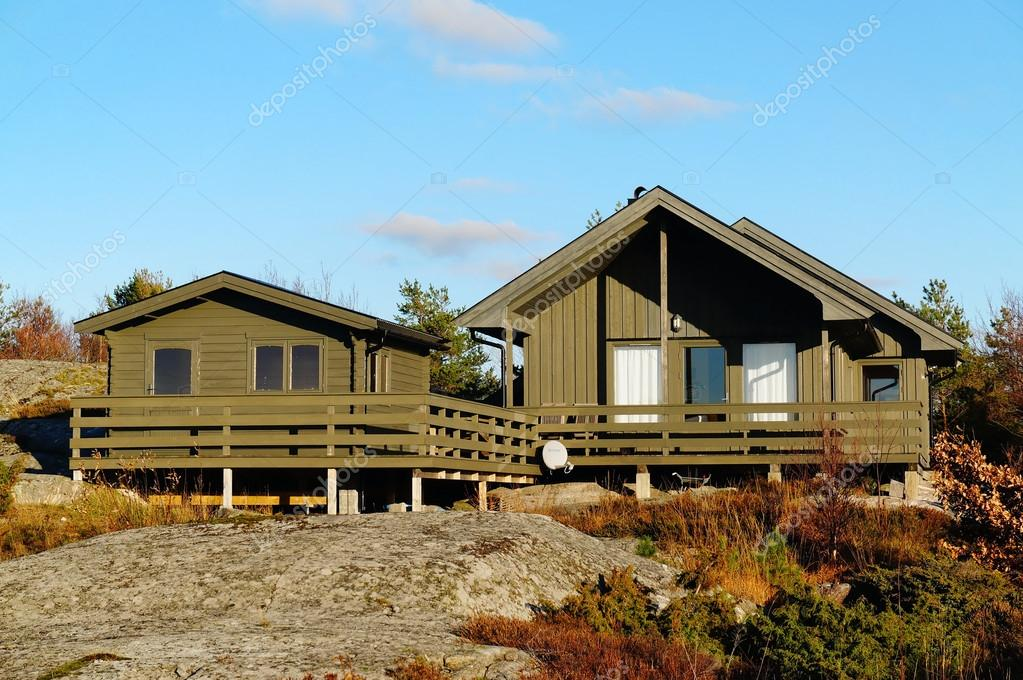 Green cottage with additional sauna