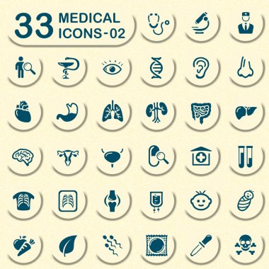 33 jeans medical icons - 02