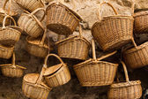 Fotografie Wicker baskets in a street market