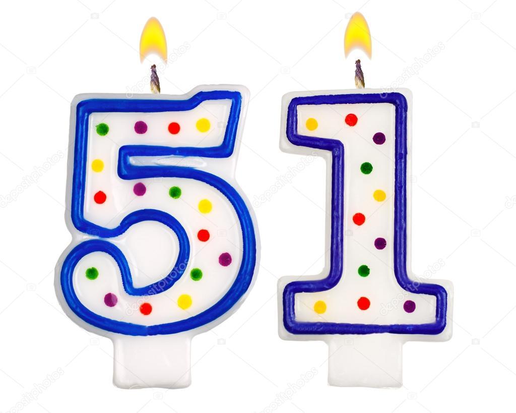 Поздравление с днем рождения 51 летию