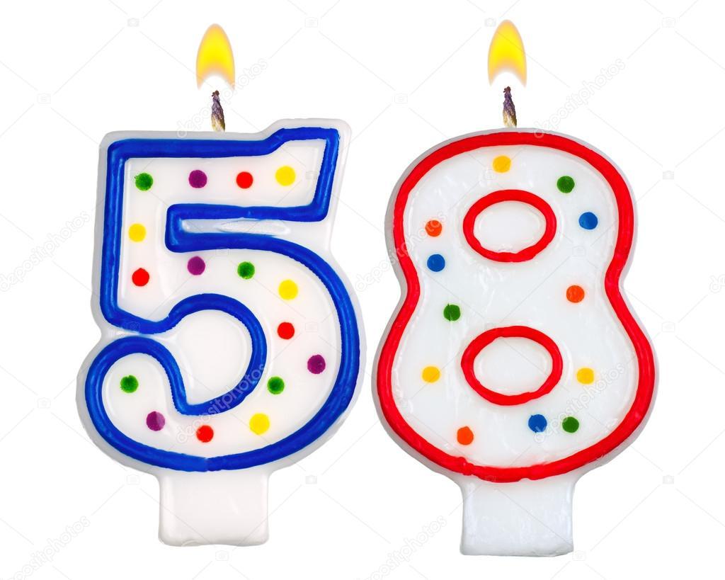 Открытки на день рождение 58 лет