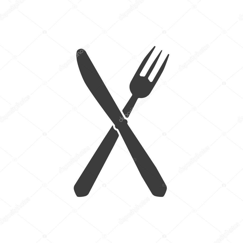 The knife and fork icon