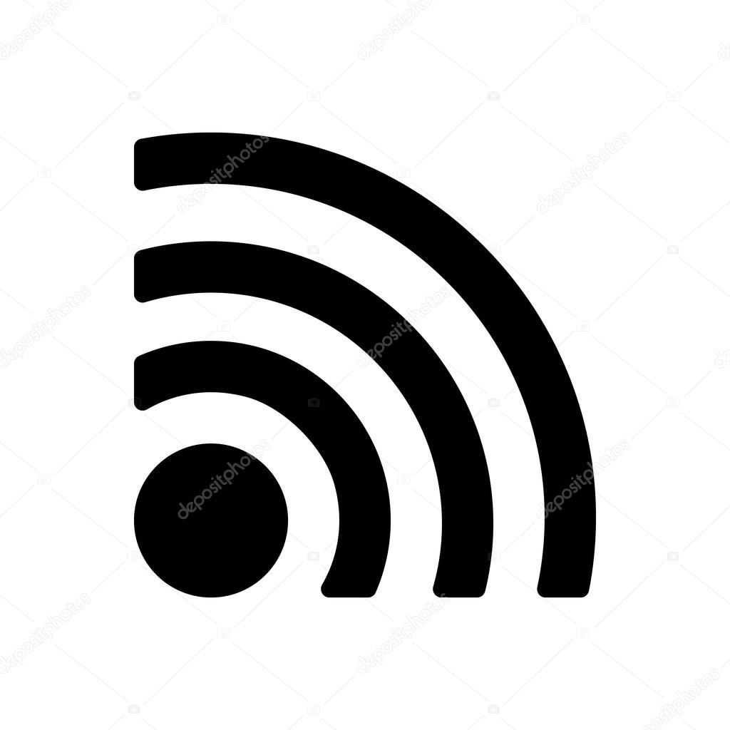The wireless icon. wifi symbol. — Stock Vector © Vladvm #72208199