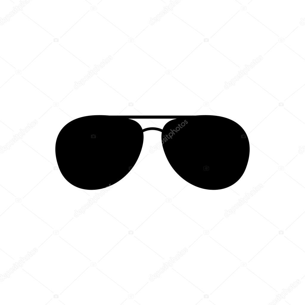 Di Occhiali Da L'icona SoleSimbolo OcchialiPiatto 35AjcRL4q