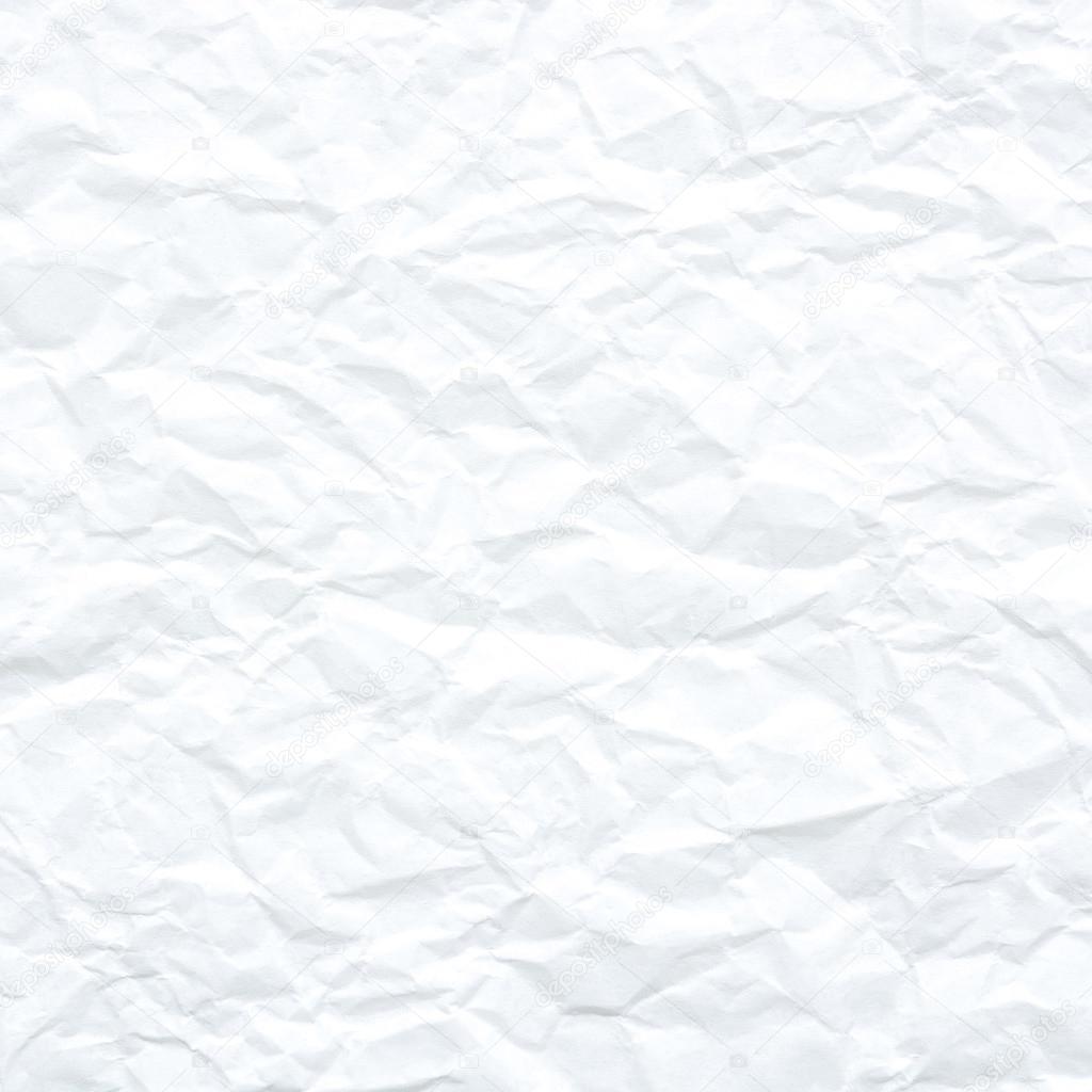 Sfondo Texture Bianco Carta Stropicciata Foto Stock Zephyr18