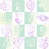 Bionická vektorové ikony