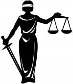 szimbólum Igazságügyi szobor