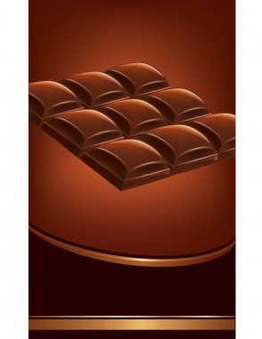 Chocolate tables background