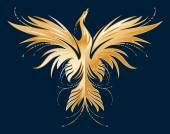 Fényképek Sziluettjét. Phoenix arany.