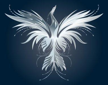 Silver Phoenix silhouette