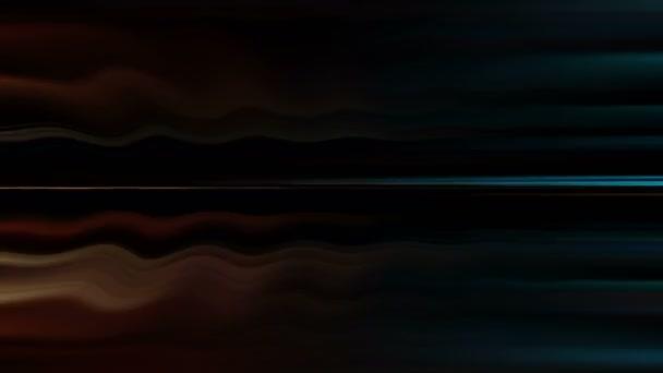 Abstraktní pozadí vlnité. Loop připravena animace